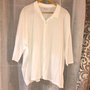 NWOT Eileen Fisher cotton tunic